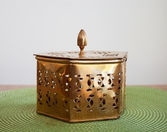 Metal Container (brass)