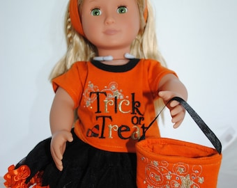 18 Inch Trick or Treat Doll Halloween Outfit