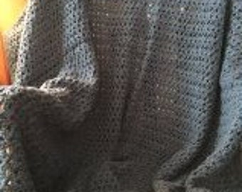 Cozy Throw Blanket - Dark Teal