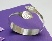 Silver Bangle silver cutlery flatware jewelry AB302