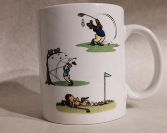 Golf Is A Four-Letter Word mug
