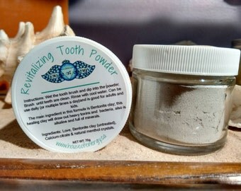 Revitalizing Tooth Powder