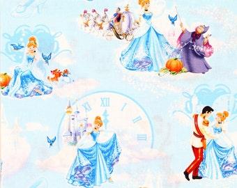 Cinderella at the ball Disney Princess Fabric