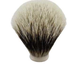 Finest Two Band Badger hair Shaving Brush Knot