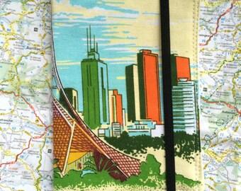 Passport holder, Passport cover, Retro Melbourne passport cover, Melbourne passport holder, Handmade passport cover,Souvenir passport holder
