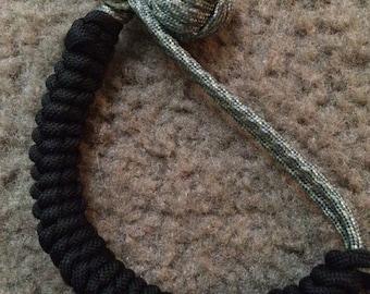 Custom length monkey fist bracelet