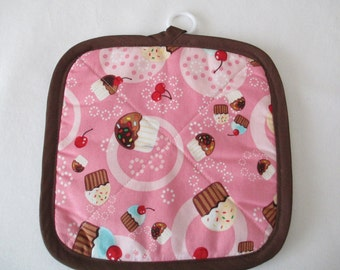 Pot Holder, Cupcakes with Sprinkles