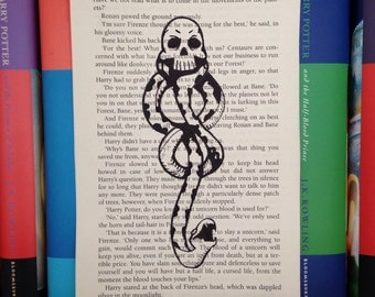 Harry Potter Dark Mark Book Page Drawing