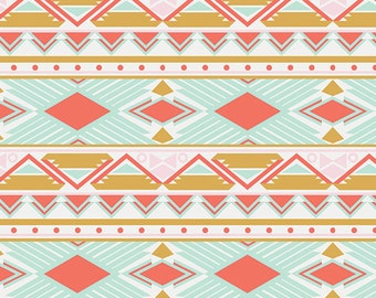 Tribal Study Aura - Art Gallery Fabrics Anna Elise - 9.95 Yard