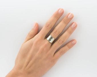 Band ring , Boho cuff ring ,  tube ring , Boho cuff ring   ***International Free shipping***