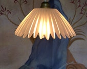 Vintage Crystal Glass French Lamp Shade