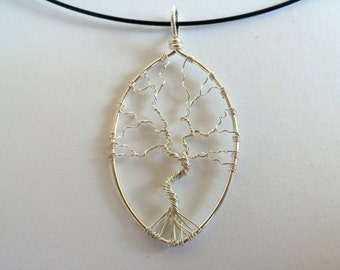FREE SHIPPING Tree of life wire pendant