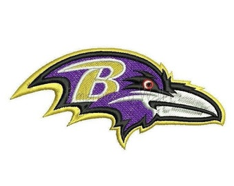 Embroidery design - Baltimore Ravens embroidery design ~ INSTANT download machine embroidery pattern