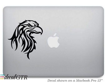 Eagle Macbook Decal Sticker - American Eagle Laptop Notebook Macbook Air Pro Car 11 13 1517 Skin - Removable Vinyl - G043