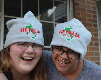 Hetalia fleece hat
