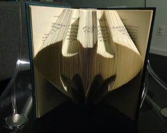Batman folded book