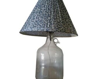 Clear Growler Lamp