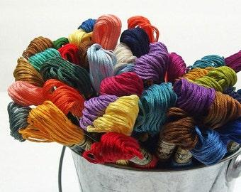 DMC coton soie, choisissez 25 - fil à broder - couture - main couture