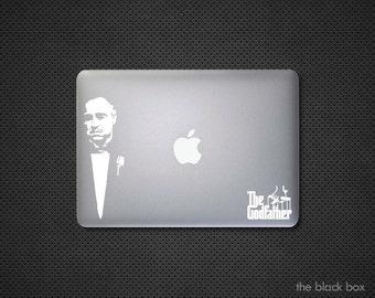 The Godfather inspired Macbook decal - Macbook sticker