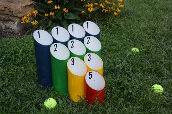 Pipe ball lawn game skee wedding games