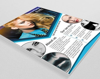 Photography flyer Template | Photography marketing flyer | Instant download |  PF-007