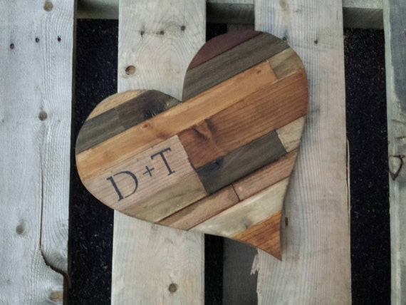 Items Similar To Wood Heart Heart Frame Rustic Wooden