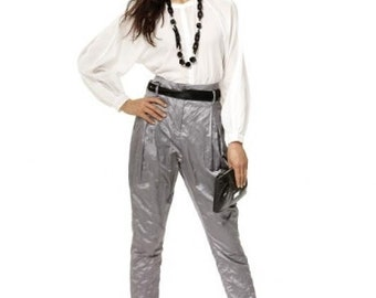 Burda sewing pattern - mod Hollywood waist pants - Size 8-10-12-14-16-18