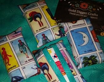 La Loteria Tissue Holder