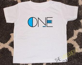 Boys Birthday Shirt, Kids Birthday T shirt, First Birthday Shirt, Hipster T-Shirt