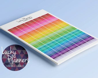 175 Printable Stickers TO DO HEADERS V1 (Perfect for Erin Condren Vertical Life Planners)