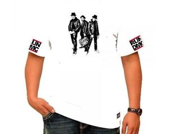 RUN DMC Old School Mens White T-Shirt