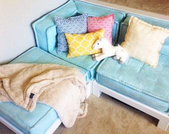 Plan ONLY -- Solid Wood Base for Pottery Barn PB Teen Cushy Lounge Sofa Loveseat Sectional Ottoman Cushion