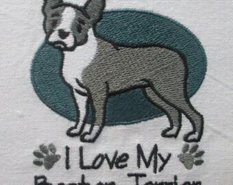 110 I Love My Boston Terrier