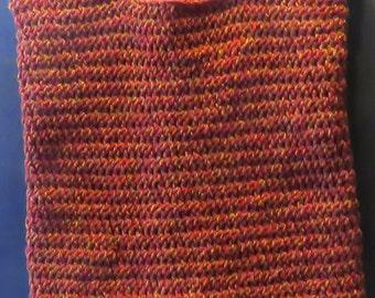 "Hand crocheted Market Bag / Purse / Tote 16""x12"""