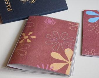 US Passport Case Passport Cover, Flowers, Passport  Sleeve, Case, Holder