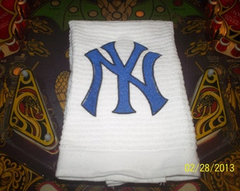 Custom Embroidered Hand Towels and Wash Cloths