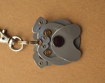 Shar Pei Pet Tag Dog ID Metal Keychain