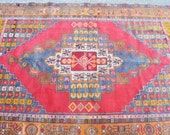 anatolian rugs tutkish handmade rug bohemian decor rug vintage rugs midcentury rugs authentic rug aztec rug faded rug beautiful rugs cheap