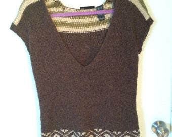 SALE Vintage 1970s knit sweater