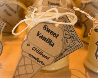 Vanilla Butterscotch Handmade Soy Candle