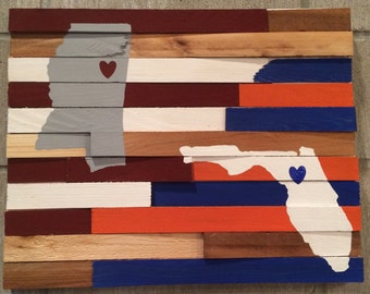 College Wall Hanging - House Divided