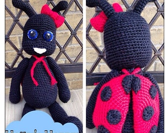 Little Miss LadyBug stuffed animal