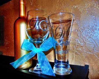 I DO wine glass set