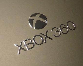 XBox 360 Label / Aufkleber / Sticker / Badge / Logo 34mm x 18mm  [0177]