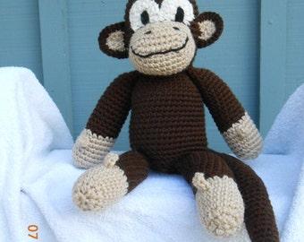 SALE  Crocheted monkey