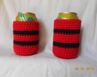 SALE  Crocheted can cozy