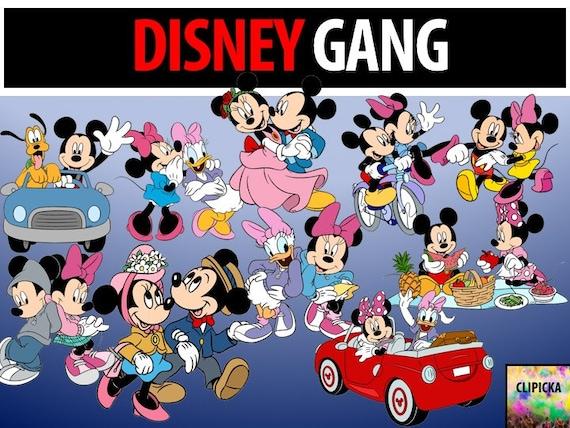 46 Disney Gang Mickey Mouse Clip Art Cartoon Printable