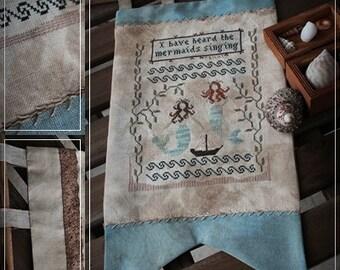 Mermaids song / Cross stitch pattern / PDF