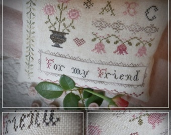 For my Friend - Cross stitch pattern