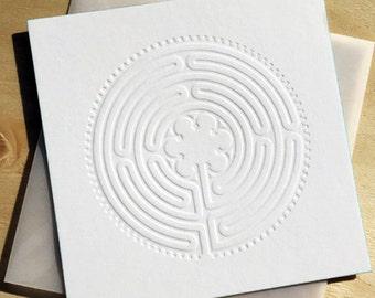 Symbol Map Labyrinth, Letterpress, Letterpress, Power Symbol, Crafts, Handmade.